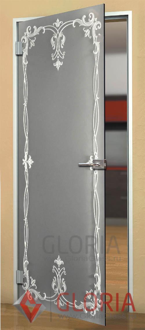 Как задекорировать стекло на двери своими руками 79